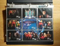Star Trek The Next Generation Season One Trading Cards Base Set & Chase cards