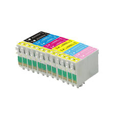12 Ink Cartridge For Epson Printer Photo R200 R220 R300 R300M R320 R340 RX500