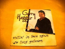 Cardsleeve Single CD GARRY HAGGER Fallin' In Love Again 2TR 2000 ballad dutch