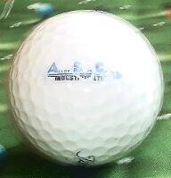 LOGO GOLF BALL=Hawks Prairie Central High School (Illinois) Golfball