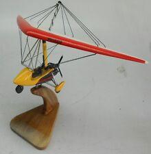 Quantum 15-912 UK Pegasus Ultralight Trike Airplane Wood Model Replica Large New