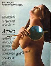 PUBLICITE  1967   DOCTEUR FAUST  cosmétiques ACOKA