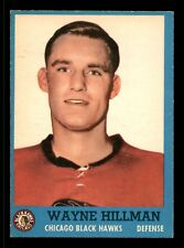 WAYNE HILLMAN 62-63 TOPPS 1962-63 NO 31 EXMINT+  12523