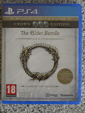 The Elder Scrolls Online-Tamriel Ilimitado corona Edition para PS4 PAL (Nuevo)