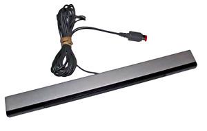 Genuine Silver Nintendo Wii Sensor Bar (RVL 014) Wii U Compatible Official