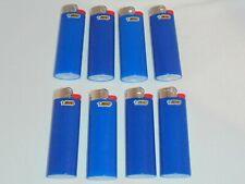 8 Bic Blue Regular Size Disposable Lighter