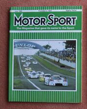Motor Sport July 1985 Lamborghini Jalpa, VW GTi 16v, Alfa Arna, Le Mans