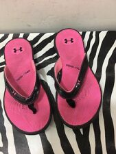 under armour 4D Foam shoes women size 7 Flip Flop