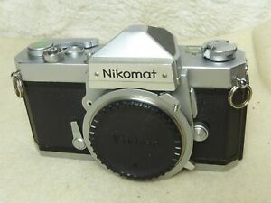 Nikomat FT 35mm Film FLR Camera- Body Only - Fully tested all working well