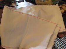 Vintage  HUGE  Roller Hand  Tea Towel Cotton Linen Red / Aga / Range. over 7m!