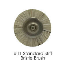 Dental Lab Stiff Bristle Brush #11, 144-Pieces