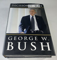 "George W. Bush ""Decision Points"" 2010 1st edition hardback book 43rd President"