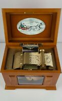 Mr. Christmas Music In Motion 15 songs Electric Wood Music Box