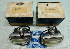 MK1 CAPRI GENUINE FORD NOS PAIR OF COMPLETE REVERSE LAMP ASSY'S - 1971 - 1972