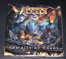 Accept the Rise of Chaos Limited CD in Gatefold Digipak Schneller Shipping New