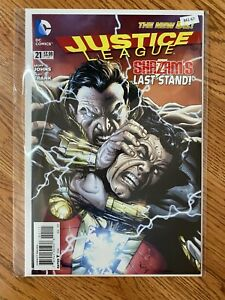 Justice League 21 - High Grade Comic Book -B61-67