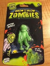 Grow and Glow Zombie - Grows up to 600% Its' Original Size When Placed In Water!
