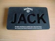 JACK DANIELS ICE CUBE TRAY OLD No7 BRAND