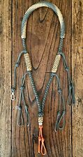 Custom Paracord Duck Goose Waterfowl Predator Call Lanyard Gray & Tan
