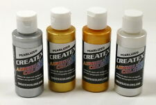Createx kit 4 colori perlati/metalizzati 60 ml (CREAPMKIT4)