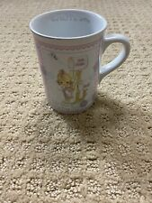 "Enesco Precious Moments Ceramic Mug ""good news is so uplifting� 1993 Thailand"
