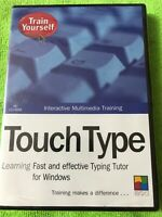 Train Yourself Touch Type [NEW SEALED] - PC () Windows 95