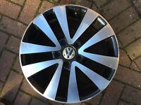 "VOLKSWAGEN VW GOLF MK5 MK6 RONAL17"" SEATTLE GTD WHEEL 5K0601025Q 5K0601025R #1"