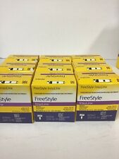 New Lot Of 700 Freestyle Insulinx Blood Glucose Test Strips- Exp.6/19-11/19