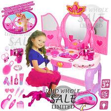 Princess Dressing Girls Mirror Make up Kids Role Play Gift Children Toy Xmas
