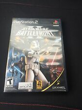 Star Wars: Battlefront II Sony PlayStation 2 PS2 Black Label Good Shape Cib SB1