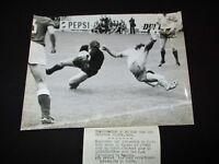 Francia Amanti Urss Sssr 1972 Inaugurazione Parco Foto Pressa Calcio Afp