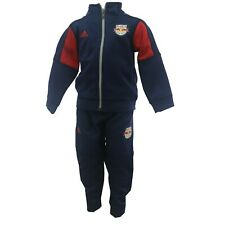 MLS official Adidas New York Red Bulls Toddler Kids Jacket & Pants Warmup Suit