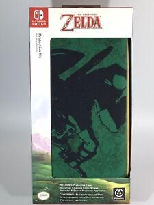 THE LEGEND OF ZELDA PowerA NINTENDO SWITCH Protection Kit ~ GREEN TAN ~ NEW