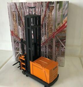 NZG STILL SAXBY MX13 Hochregal Gabelstapler Stapler forklift OVP