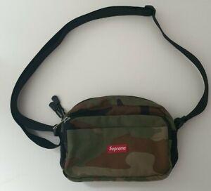 SS15 Supreme Woodland Camo Shoulder Bag Cordura fabric