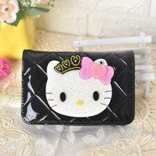 8dcb92713 Luxury Wallet Hello Kitty Cute Kawaii Short Small Ladies Wallet Womens  Leather