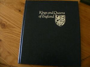 KINGS & QUEENS OF ENGLAND ALBUM COLLECTION FDCs OFFICIAL STAMPS FROM ST VINCENT