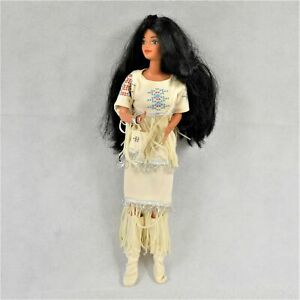 Mattel Barbie Doll Of The World 1st Edition 1753 Native America 1992 Preowned