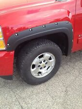 "07-13 Chevy Silverado 1500/2500/3500 6.5""/8' Bed Black Rivet Pocket Fender Flare"