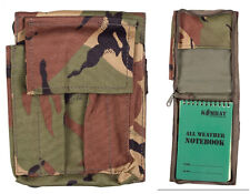 Army Combat A6 Note Orders Book Map Holder Binder Folder Cover Surplus DPM