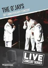 THE O'JAYS 50th Anniversary Concert NEW & SEALED CLASSIC SOUL DVD 70s (WNRD7060)