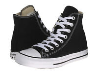 Converse All Star Hi Tops Black White Mens Womens Sneakers Tennis Shoes M9160