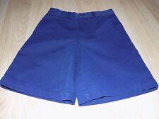 Girls Size 5 @ Class Navy Blue School Uniform Shorts Guc