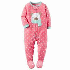 Carter's 104/110 Schlafanzug Fleece Einteiler Mädchen warm Winter Reißverschluss