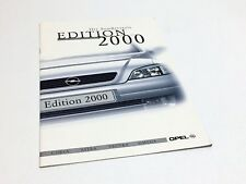 2000 Opel Corsa Astra Vectra Omega Special Series Brochure - German