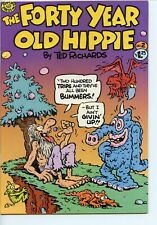 Forty Year Old Hippie #2 Rip Off Press Ted Richards 1979 VF