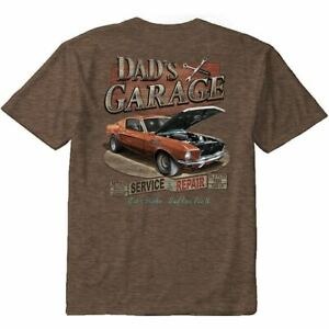 Dad's Garage Ford Mustang T-Shirt in Medium - LAST ONE! Get FREE USA SHIPPING!
