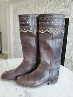 Gorsuch Women's Tall Brown Boots Size 38/7