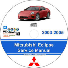 Mitsubishi Eclipse and Spider 2003 2004 2005 Factory Workshop Service Manual