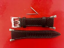 SEIKO HONDA F1 LEATHER STRAP BAND WATCHBAND SEIKO SPORTURA + BARS SPC003